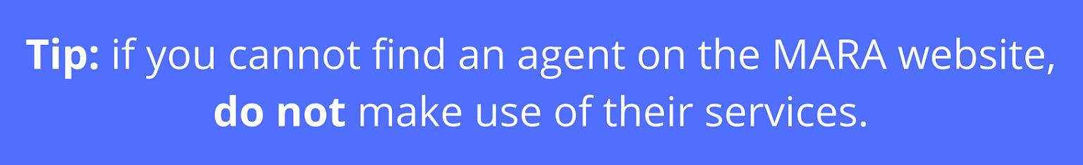 MARA agent tip